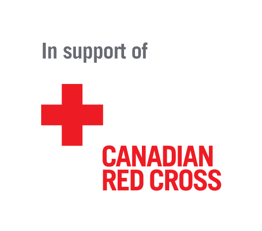 An icon in support of the Canadian Red Cross